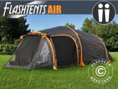 Namiot kempingowy FlashTents® Air,2 persons, Orange/Dark Grey